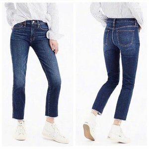 J. Crew Vintage Straight Raw Hem Jeans Size 26